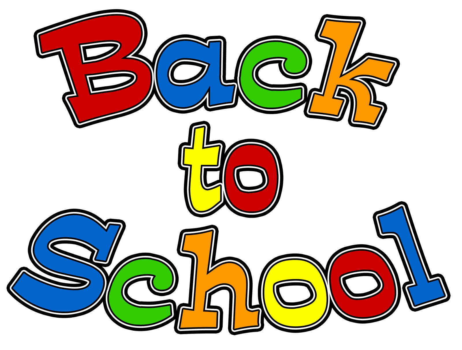 Back To School Clipart #34914