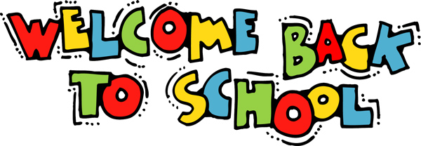 Back to school clipart free .