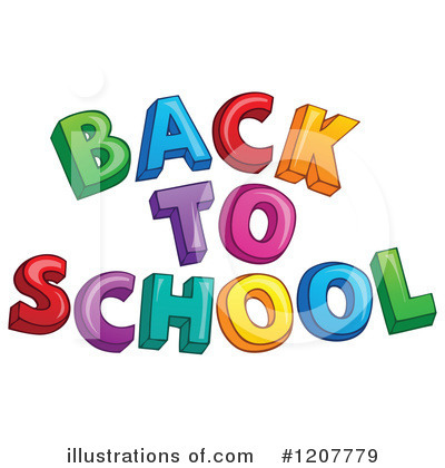 Royalty-Free (RF) Back To School Clipart Illustration by visekart - Stock  Sample