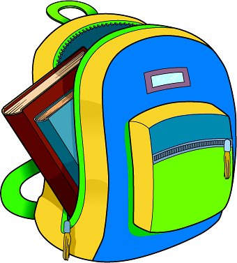 Backpack Clipart #10758