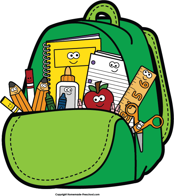 Backpack Clipart #10759 - Backpack Clipart