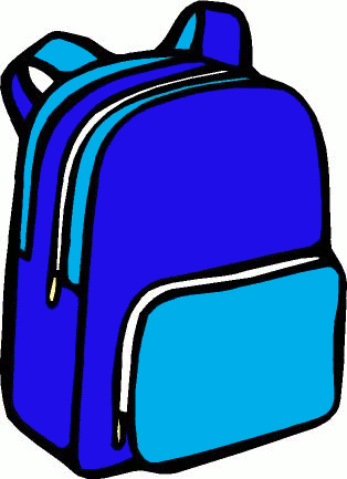 Backpack Clipart #10761