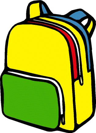 Backpack Clipart #10762 - Backpack Clipart