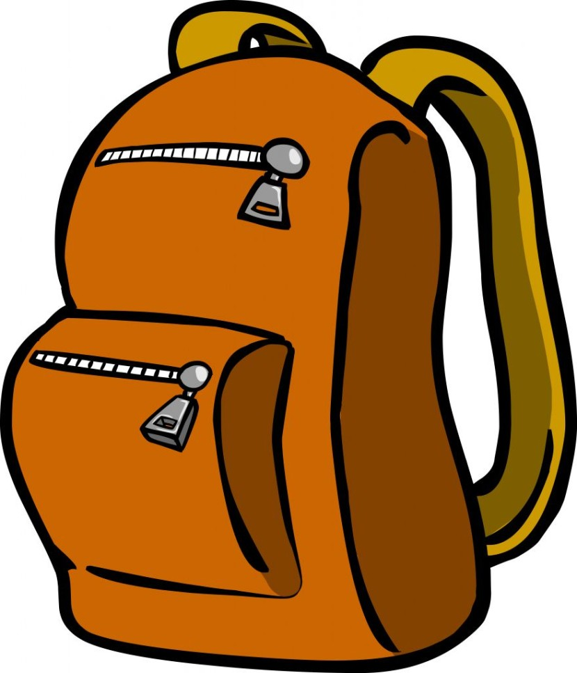 Backpack Clipart 2