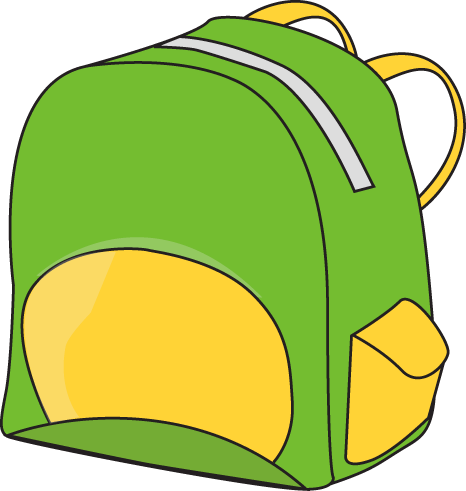 School backpack clipart free  - Backpack Clipart