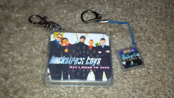 Backstreet Boys Musical Keychain u0026quot;All I Have To Giveu0026quot;   Hit Clip gift