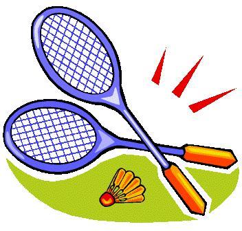 Badminton Clipart-Clipartlook.com-352