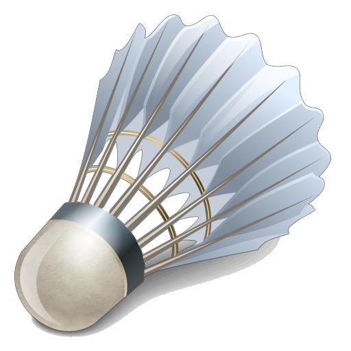 Badminton Birdie Clipart PNG Image