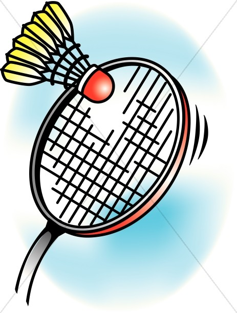 Colorful Badminton
