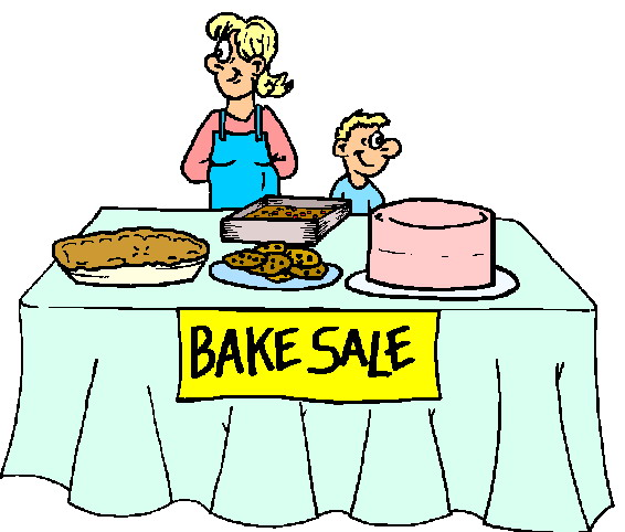 Bake Sale Clipart - Clipart library
