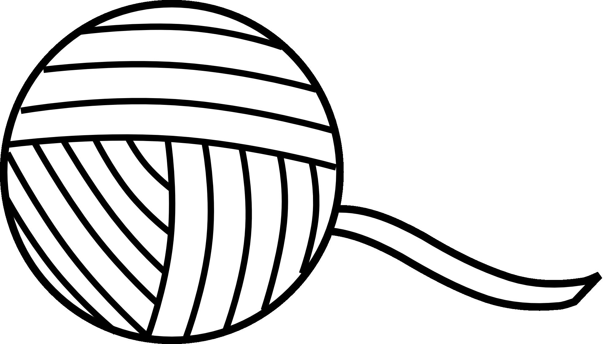 Ball Of Yarn Clipart #1 .
