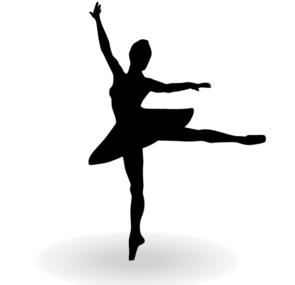 Ballerina Silhouette Clip Art Free