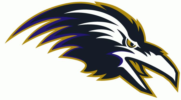 Baltimore Ravens Alternate Logo (1996 - 1998)