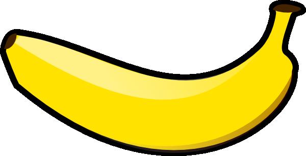 clipart banana horizontal ban - Banana Clipart