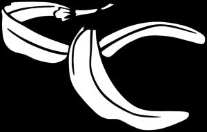 Banana Peel 1 Clip Art