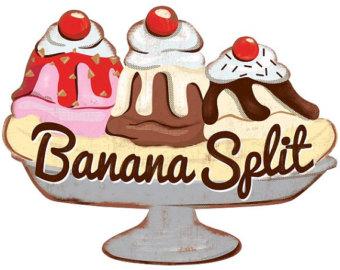 Banana Split Ice Cream Parlor .