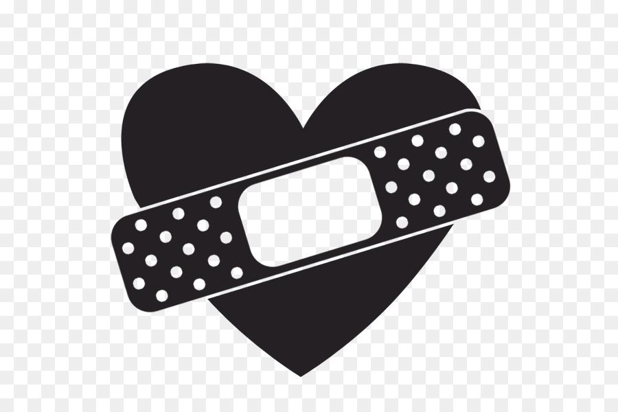 Band-Aid Heart Clip art - Hea - Bandaid Clipart