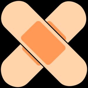 Flu Shot Band Aid Clipart #1 - Bandaid Clipart