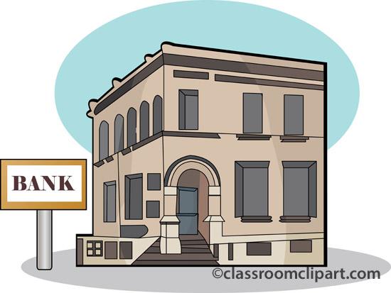 Bank cliparts