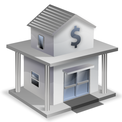 Bank icon clipart image