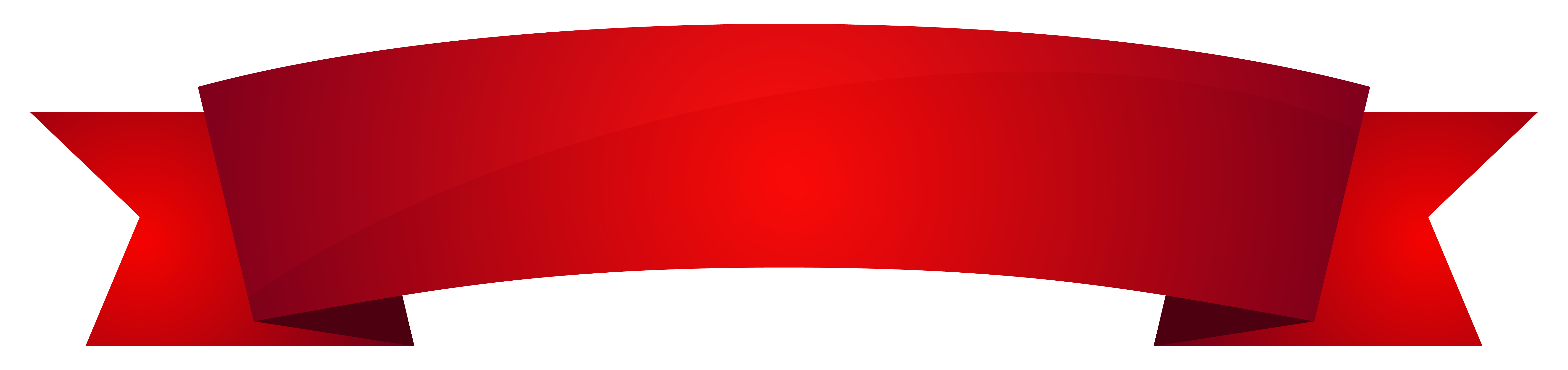 Banner red clipart image