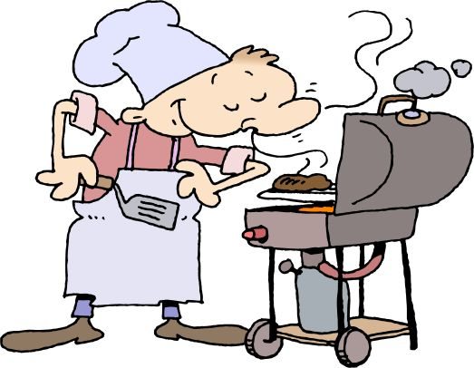 barbecue clip art free   ... : Labor Day Weekend Free Clipart Funny Barbecue