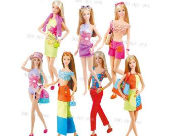 barbie clip art #22