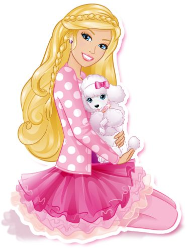 Barbie clipart ballerina #1