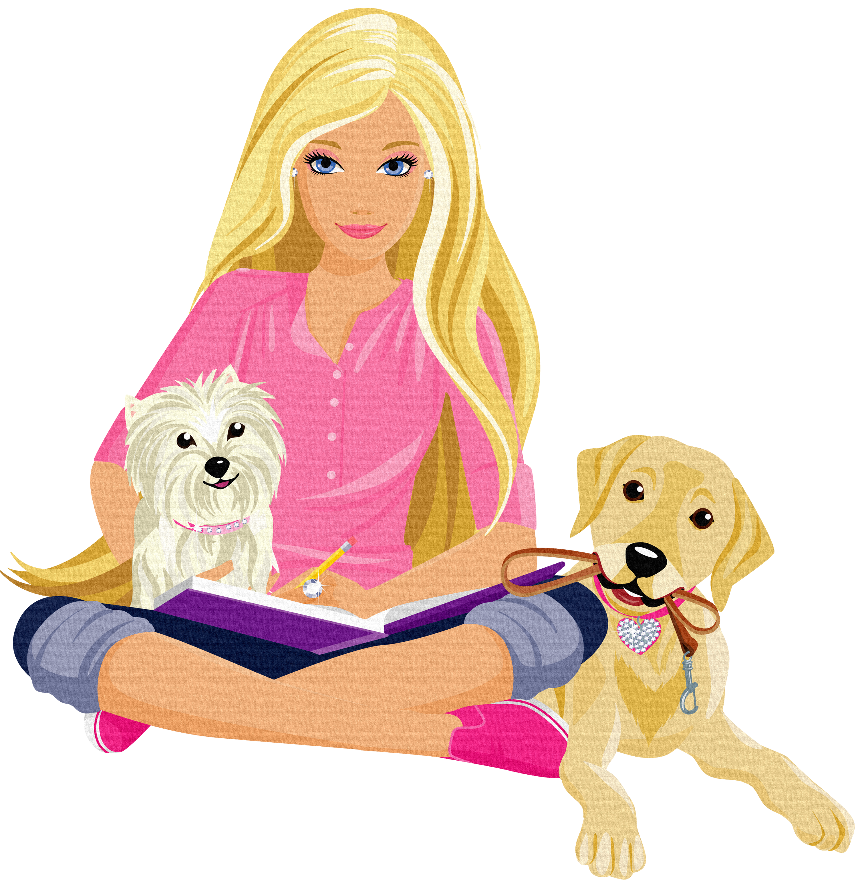 Barbie Free Clipart #1