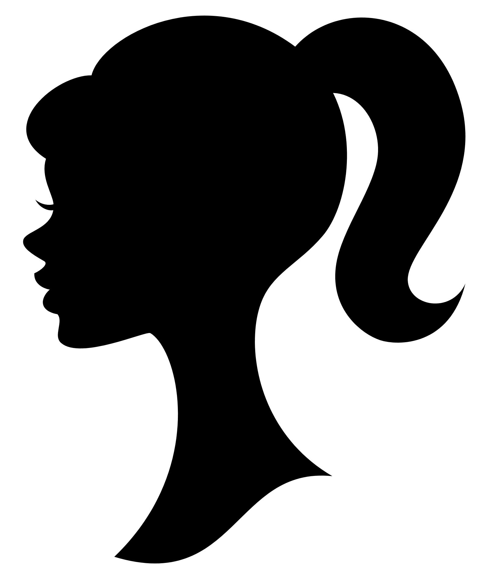 ... Barbie Silhouette Clipart ...
