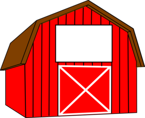 Barn clipart black and white free clipart images