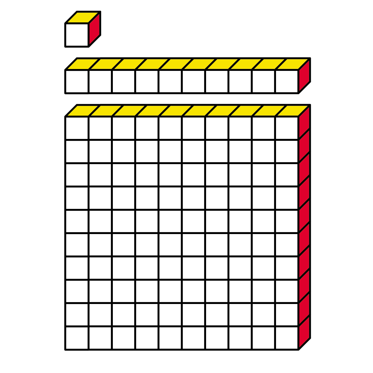 Base Ten Blocks Clipart Cliparts Co