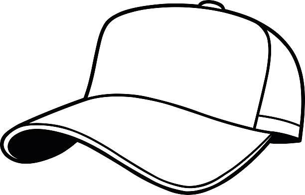 Hat Clipart Black And White Baseball Cap Clipart Custom Skull Caps intended  for Hat Clipart Black