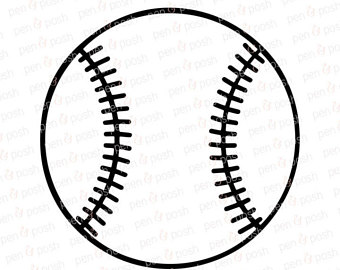 Baseball SVG - Baseball Clipart - Softball SVG - Softball Clipart - Baseball  SVG Files -