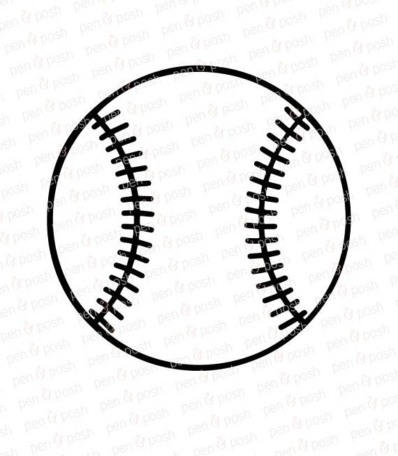 Baseball SVG - Baseball Clipart - Softball SVG - Softball Clipart - Baseball  SVG Files - Softball Svg File - Baseball from PenAndPosh on Etsy Studio