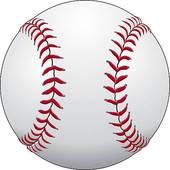 Baseball Vector Graphic Template; Baseball