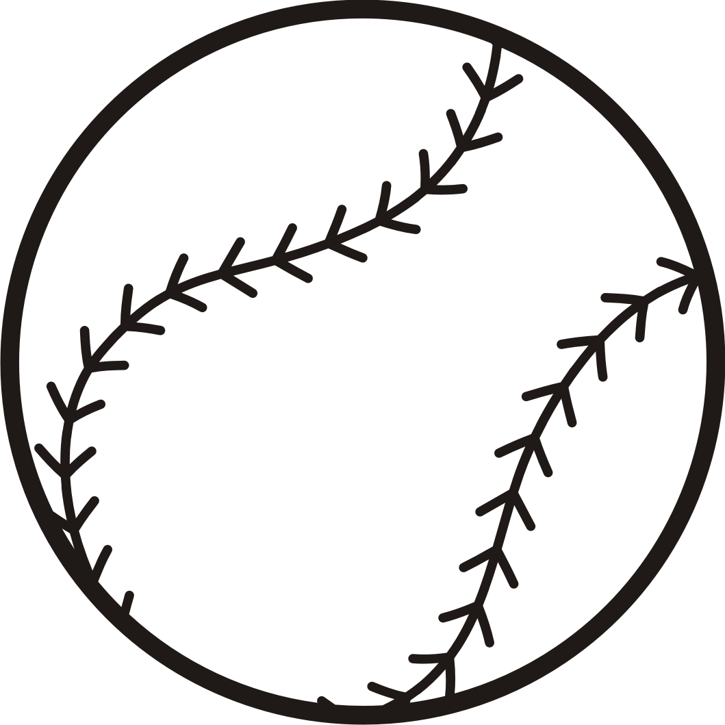 Baseball Black And White Baseball Clipart Black And White Dril 2