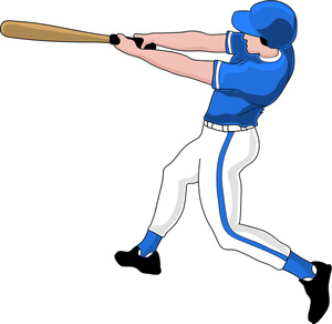 play baseball clipart 10