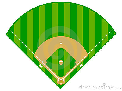 Baseball Field Clipart Baseball Diamond 19047917 Jpg