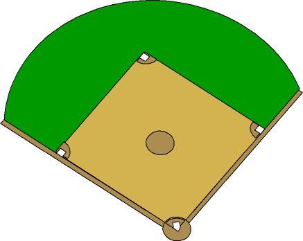 Baseball Field Outline