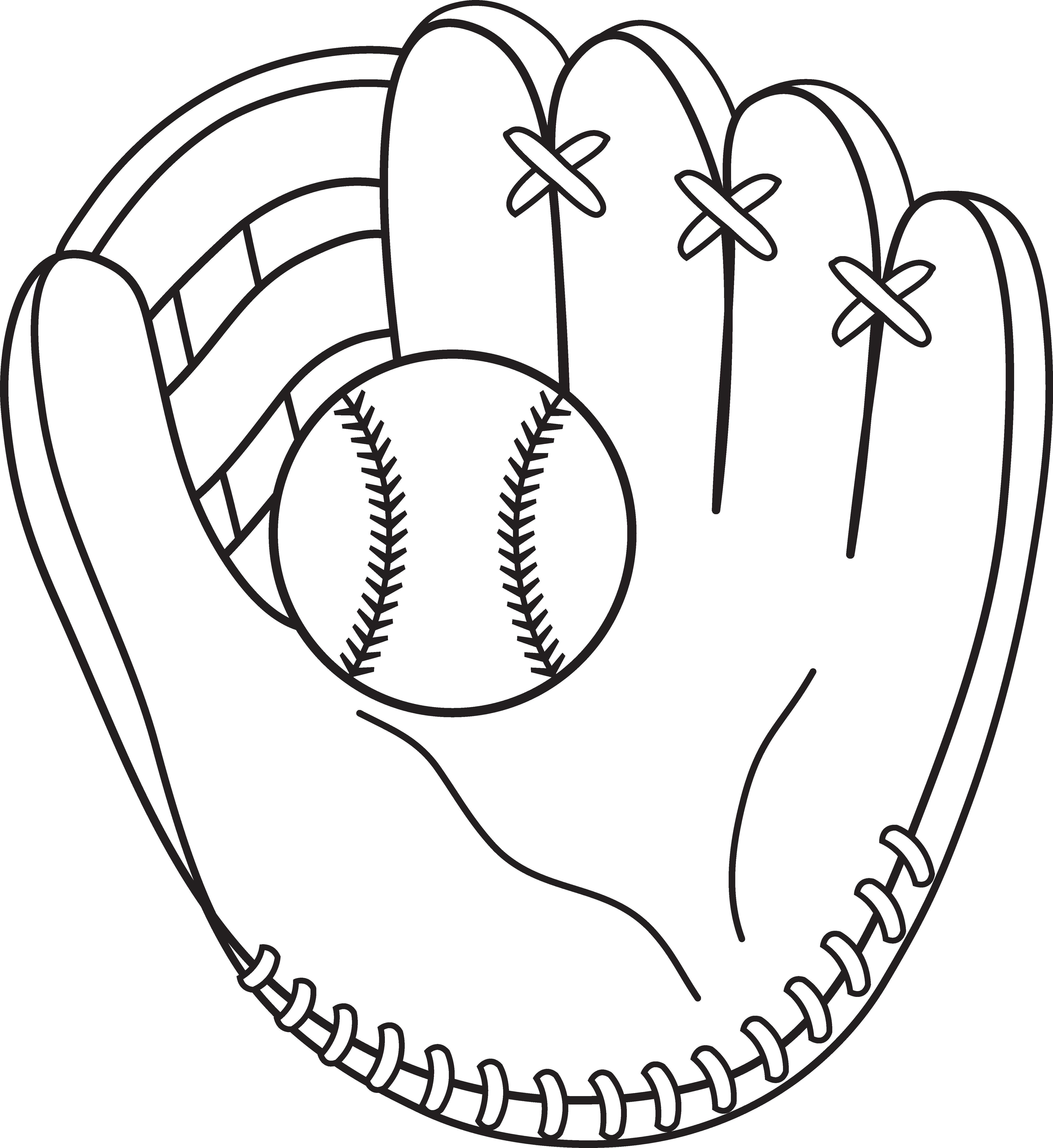 Baseball Glove Clip Art #19734