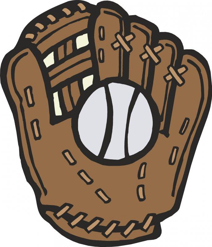 Baseball Mitt Clipart #18420