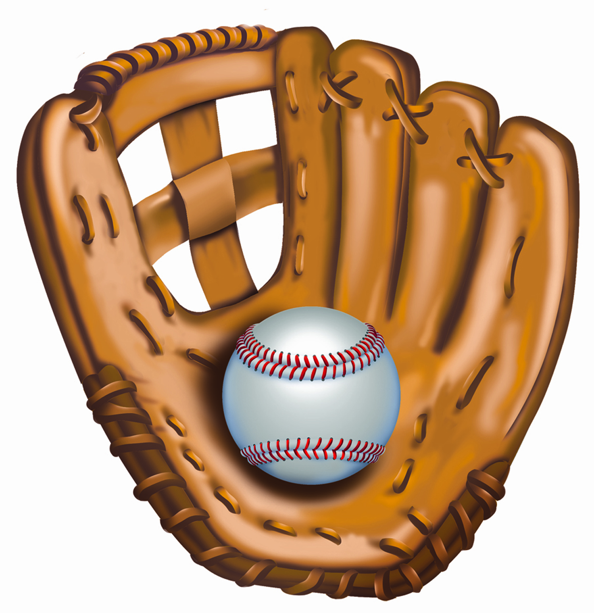Glove And Ball Clipart