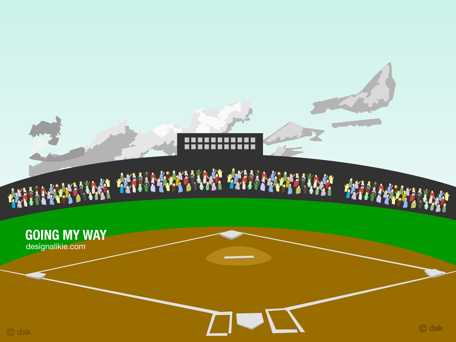 Baseball Stadium Clipart .