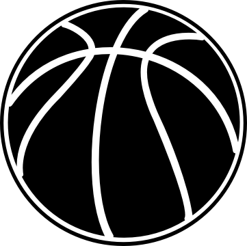 Basketball black and white house clipart black and white 3 2