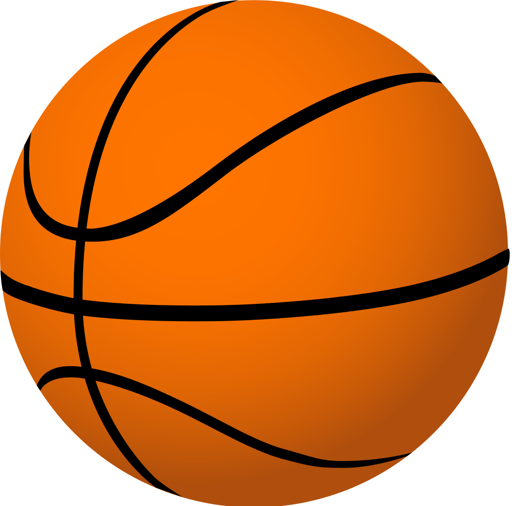 Basketball clip art graphics