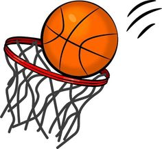 Basketball clip art 4