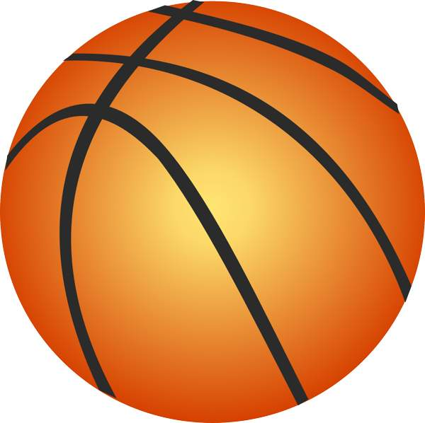 Basketball clipart 0