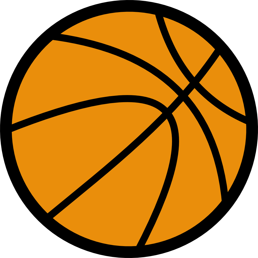 Basketball Ball Clipart Black And White: Clip Art: Basketball Art