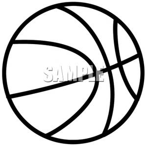 Basketball Clipart Black And White Black And White Basketball 100428